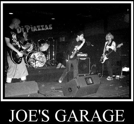 Joe's Garage Punk Band Photo